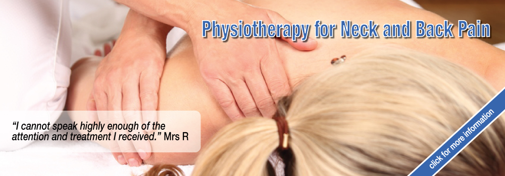 Home Visit Physiotherapy for Neck and Back Pain