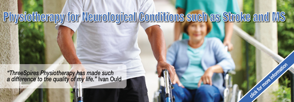 Physiotherapy for Neurological Conditions such as Stroke and MS