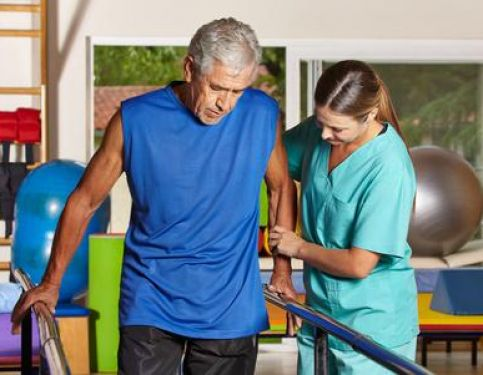 Physiotherapy after a stroke in Rugeley