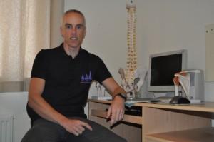 Lichfield Physiotherapist Dave Pinnington Staffordshire West Midlands